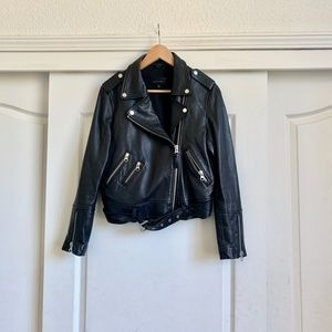 Mackage For Aritzia Bayana Leather Jacket